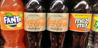 Fanta Coca Cola Coke Mezzo-Mix Zero