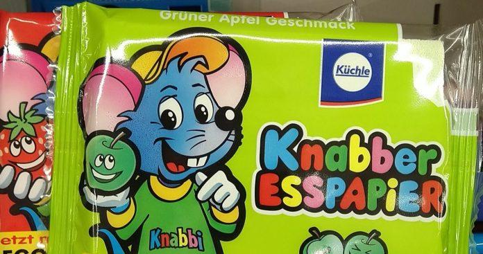 Küchle Knabber Esspapier Knabbi