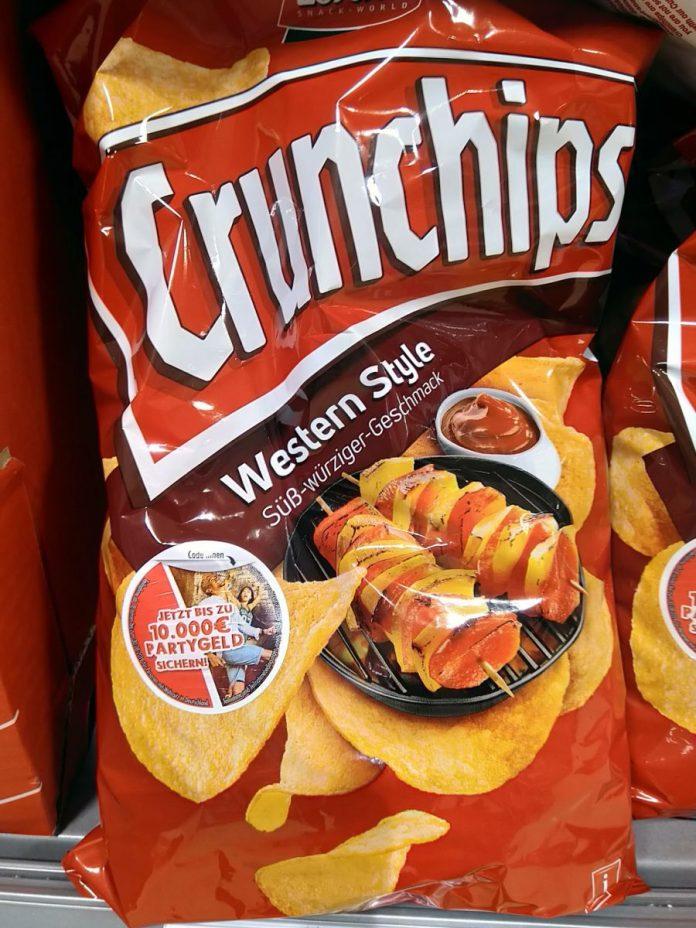 Crunchips Partygeld