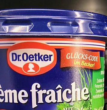 Dr. Oetker Creme Fraiche Weber-Grill