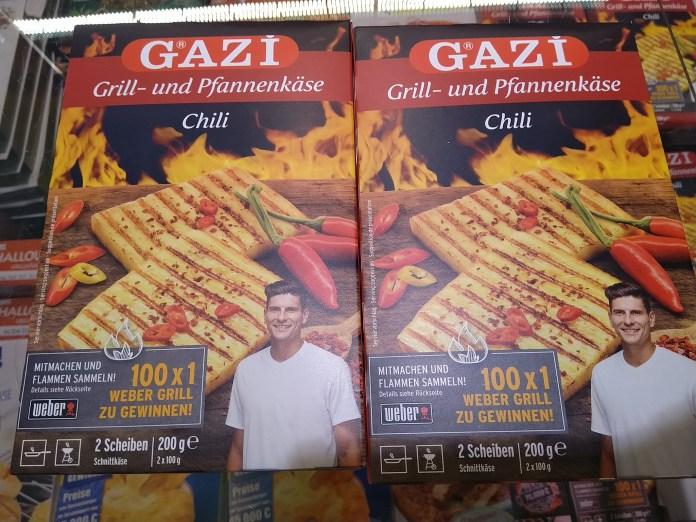 Gazi Käse-Webergrill
