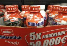 Müllermilch - Finderlohn Finde das Muh