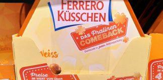 Ferrero Küsschen Pralinen Comeback