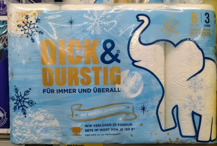 Hakle Dick & Durstig - Fondue-Set