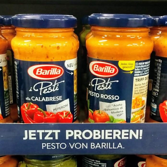 Barilla Grill mit Pesto - Weber-Grill
