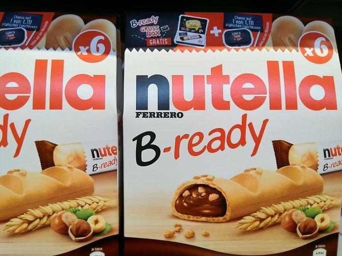 Nutella B-Ready Grußbox gratis