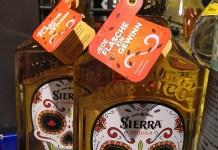 Sierra Tequila - Totenkopf aus Gold