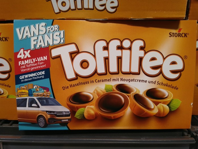 Toffifee Vans for Fans - VW Family Van