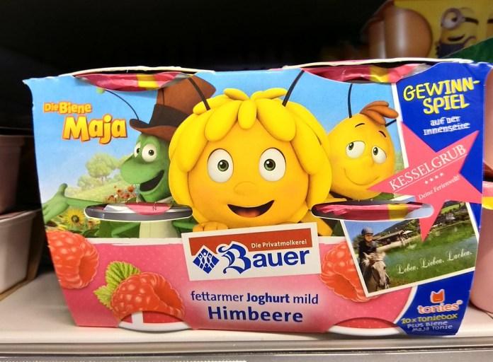 Bauer Joghurt Biene Maja - Familien-Urlaub, Toniesbox gewinnen