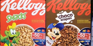 Kellogg's Rabatt Freizeitparks Merlin Entertainments