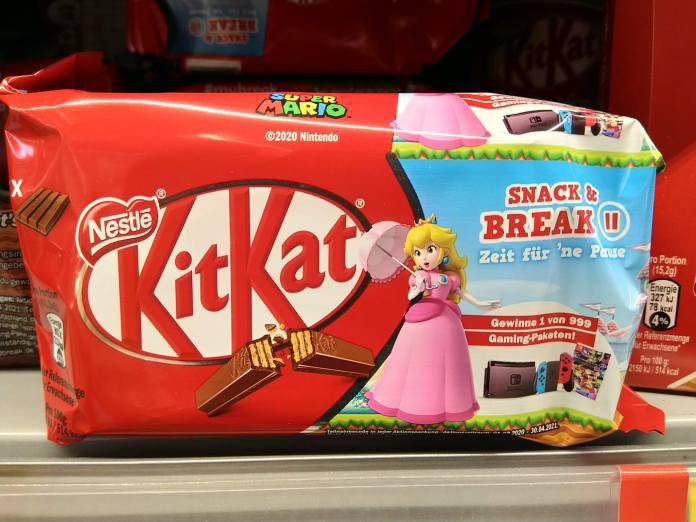 KitKat Lion: Play and break - Gaming-Paket Nintendo Switch Konsole, Super Mario Go Kart 8 gewinnen