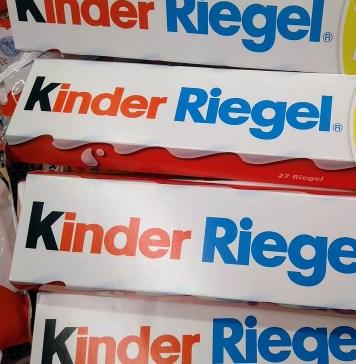 Ferrero Kinder Riegel Deutschlandtour mit Milky und Schoki