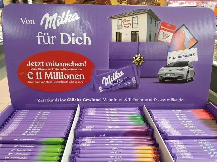 Milka - 11 Millionen Euro, Haus von Town & Country, Haushaltsgeld, VW gewinnen