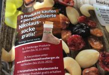 Seeberger - personalisierte Nikolaus-Socke gratis