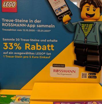 Rossmann Lego-Steine-Aktion: 33 % Rabatt auf seltene Lego-Sets