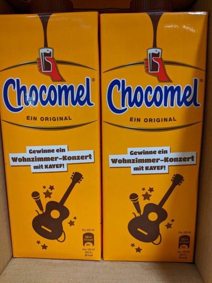 Chocomel: Wohnzimmer-Konzert mit