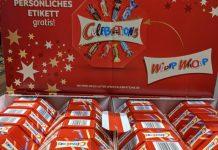 Celebrations: persönliches Etikett gratis