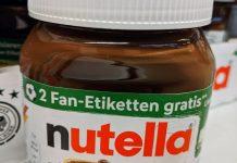 Nutella: Code eingeben, zwei Fan-Etiketten gratis erhalten