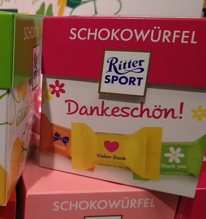 Ritter Sport Schokowürfel: Kassenbon hochladen, gewinnen