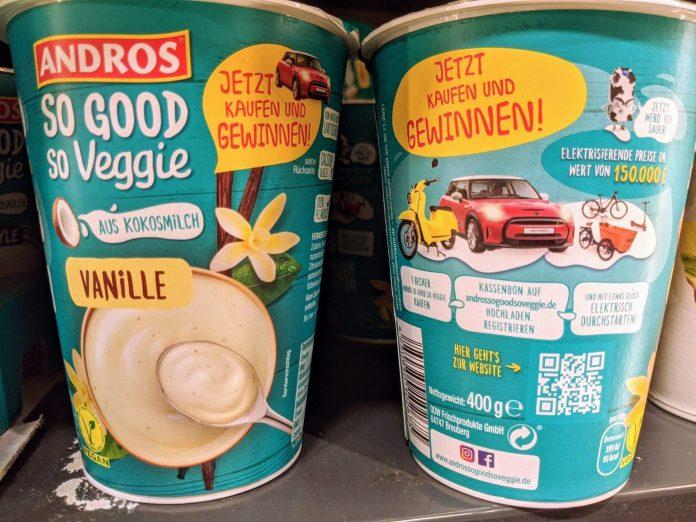 Andros So good so veggie Gewinnspiel: E-Mobility-Preise gewinnen - Kassenbon hochladeen