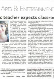 Today's article from the NYC newspaper