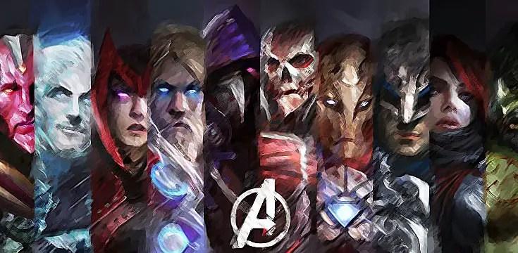 I protagonisti di Avengers - Age of Ultron in versione Medieval Fantasy