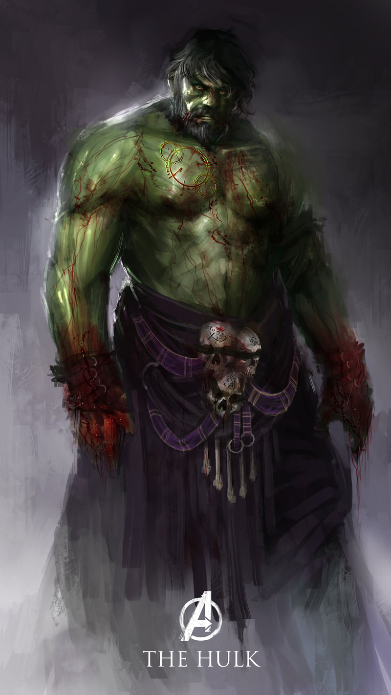 Avengers - Age of Ultron characters as Medieval Fantasy