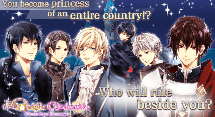 Midnight Cinderella otome game: different suitor routes' guide and review