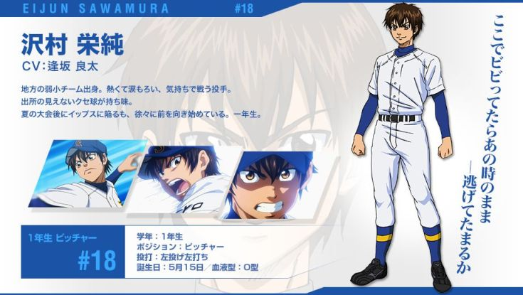 Ace of Diamond 3: la terza serie dell'anime si farà