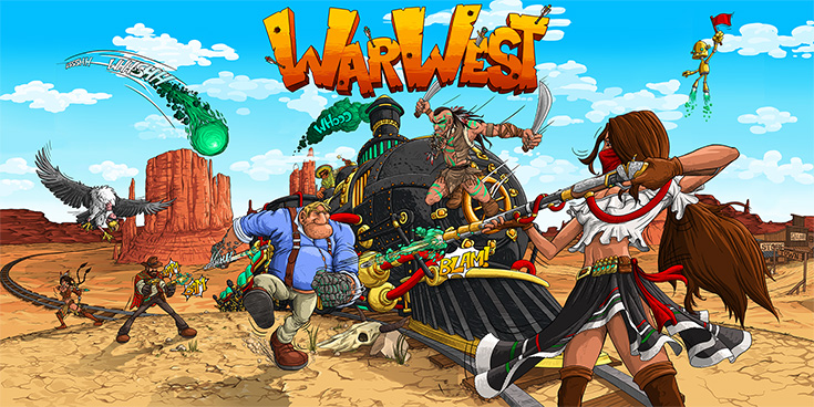 WarWest - The Revolutionary Mobile Game for Android and iOS