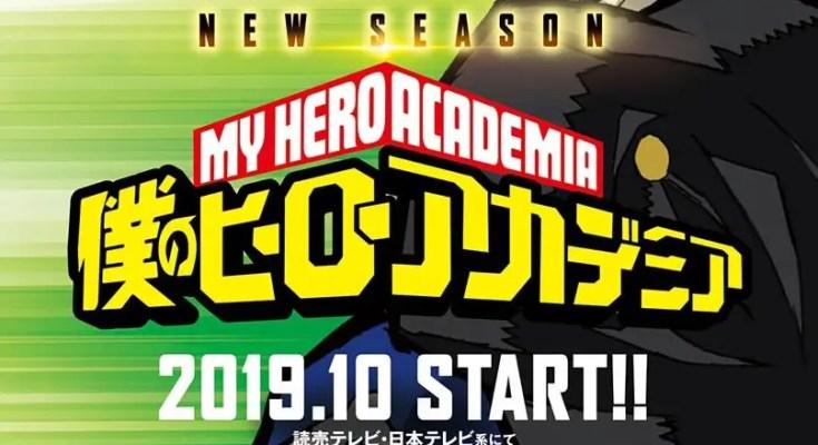 My Hero Academia 4: la nuova stagione in arrivo il 12 Ottobre 2019