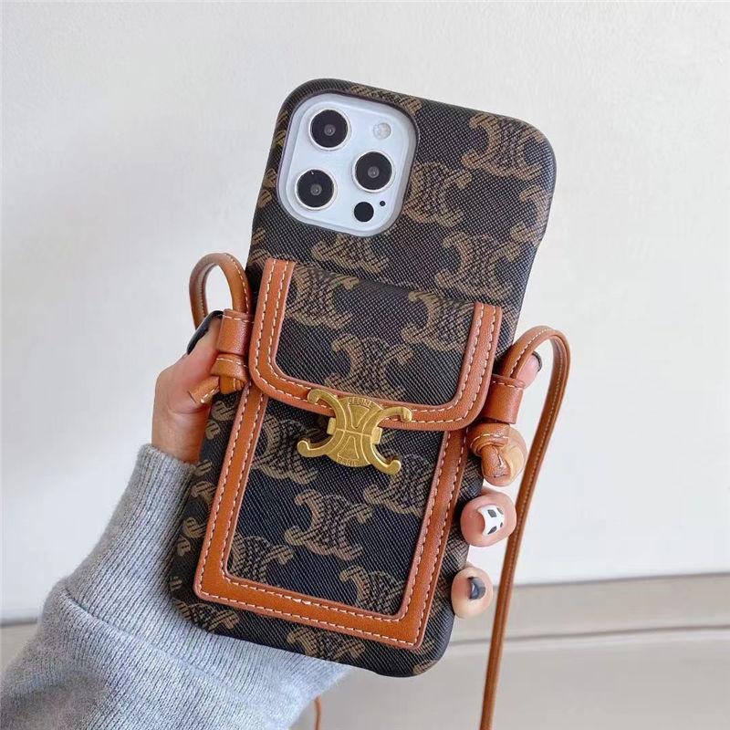 セリーヌ風 スマホケース12 ショルダー 人気 iphone12pro max ケース カード 収納 可愛い CELINE アイフォン11pro/xs max 保護カバー バッグ風 エレガント iphonexs iphone8plus 携帯ケース 大人 女子