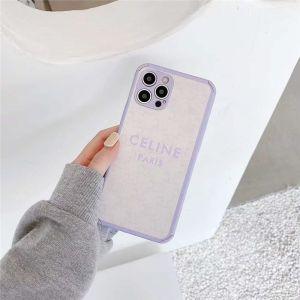 iphone12 13miniケース パープル セリーヌ 安い iphone12プロ/11 携帯カバー 頑丈 かわいい CELINE iphonexs/10r レザー ケース 女子 おすすめ