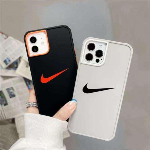 スマホ ケース iphone13/12pro ナイキ ペア iphone12 tpu ケース シンプル Nike アイフォンカバー11pro max スポーツブランド iphone10s/xケース 衝撃 に 強い