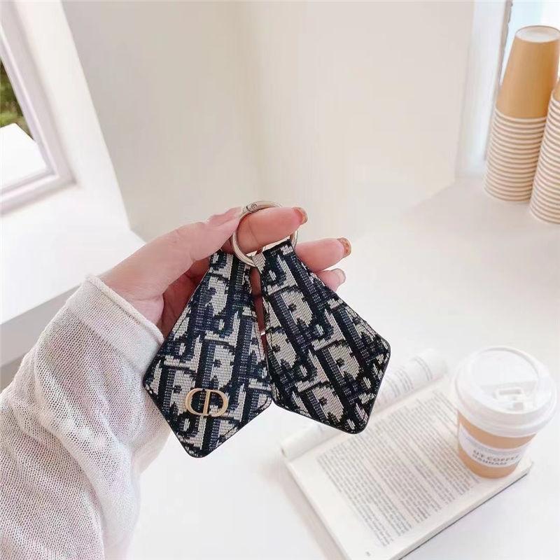 airtag キーホルダー diorパロディ エアタグ アクセサリー レザー製 ディオール airtag ケース バッグ チャーム ブランド ファッション 小物 メンズ レディース