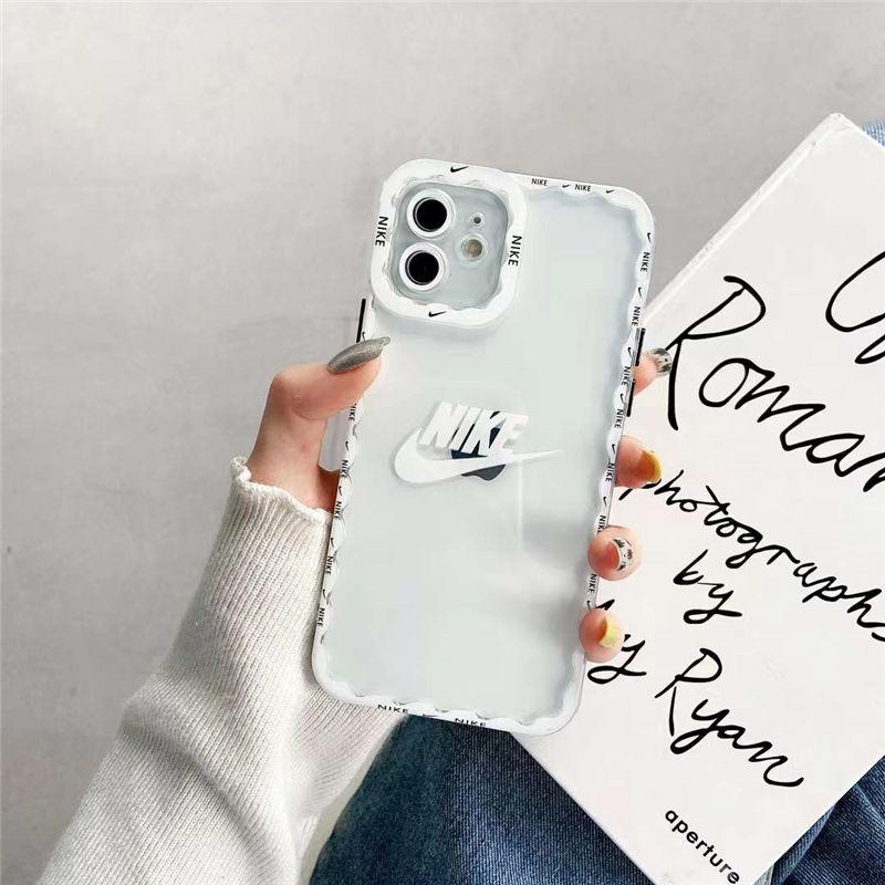 iphone13pro max スマホケース 透明 かわいい nike iphone12/12プロ ケース ペア 韓国 アイフォン11/10r/xs max クリアカバー ナイキパロディ 安い