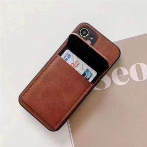 iphone13ケース カード収納 背面 celine風 アイフォン13pro max/12/12pro ケース シンプル おすすめ 携帯ケース iphone11 ブランド セリーヌ iphonex/xr/se2 カバー カップル