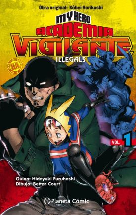 Listado Mangaplus My Hero Academia Vigilante Illegals - Hanami Dango