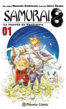 Listado Mangaplus Samurai8 La leyenda de Hachimaru - Hanami Dango