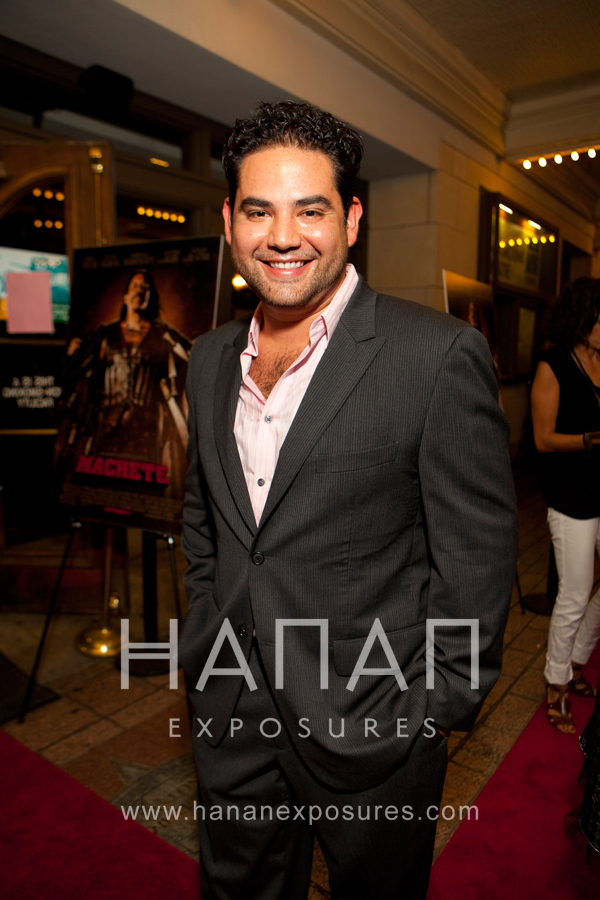 Juan Gabriel Pareja Machete Austin Red Carpet premiere