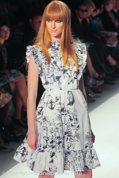 Mercedes-Benz New York Fashion Week 2011 Ivana Helsinki S/S 2011