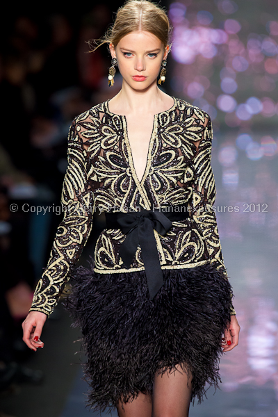 Naeem Khan - Fall/Winter 2012 - Mercedes-Benz New York Fashion Week