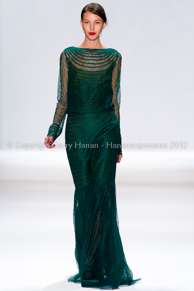 Tadashi Shoji - Fall/Winter 2012 - Mercedes-Benz New York Fashion Week
