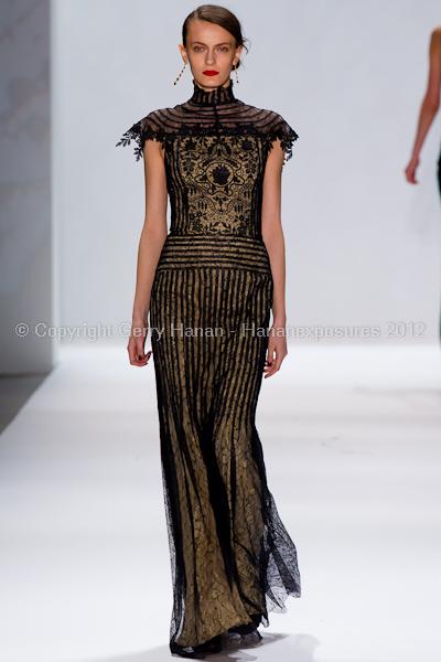 Tadashi Shoji - Fall/Winter 2012 - Mercedes-Benz New York Fashion Week