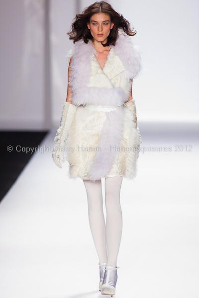 J Mendel - Fall/Winter 2012 - Mercedes-Benz New York Fashion Week