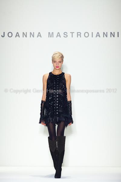 Joanna Mastroianni - Fall/Winter 2012 - Mercedes-Benz New York Fashion Week
