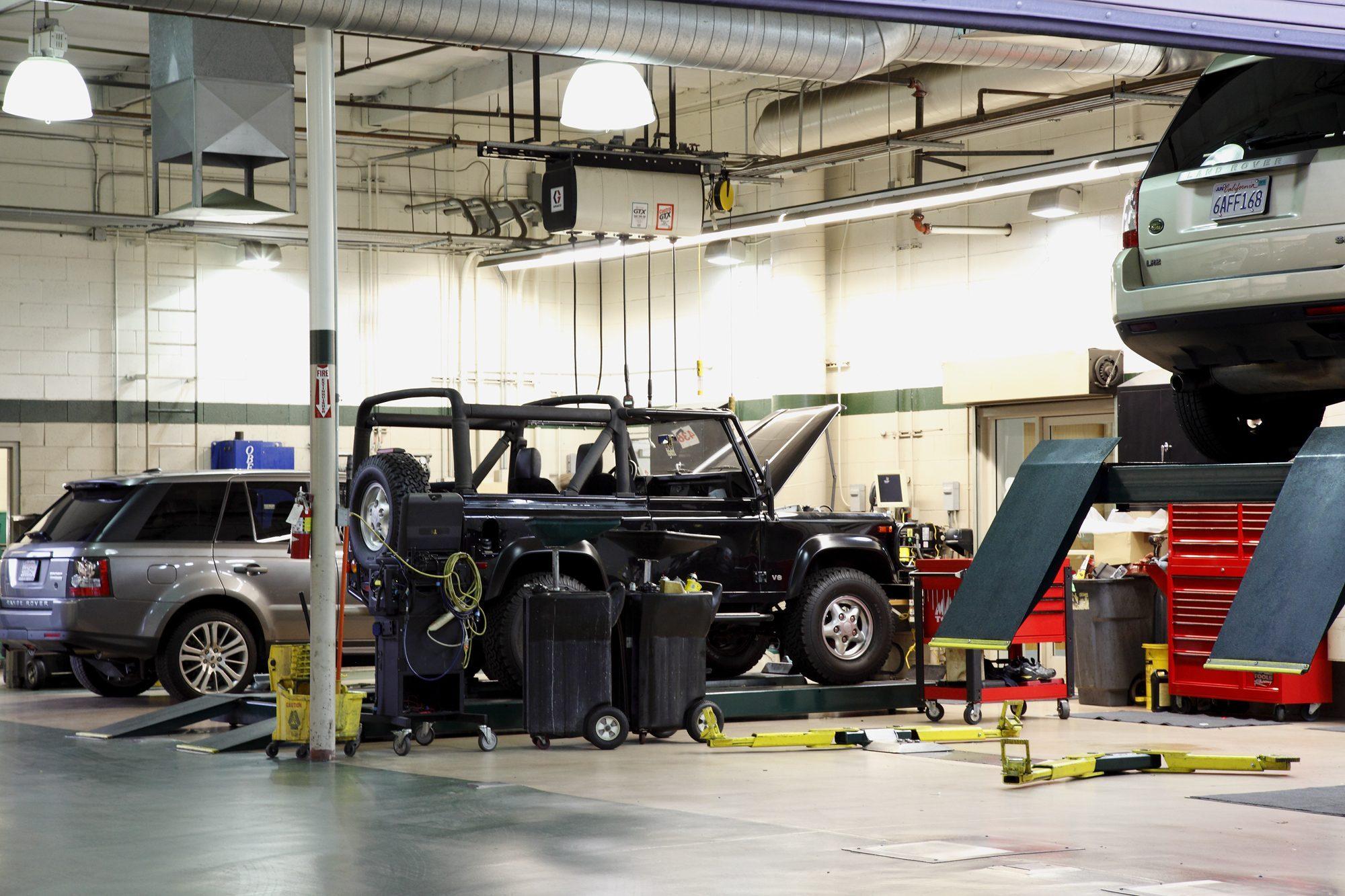 Land Rover Repair Dallas TX