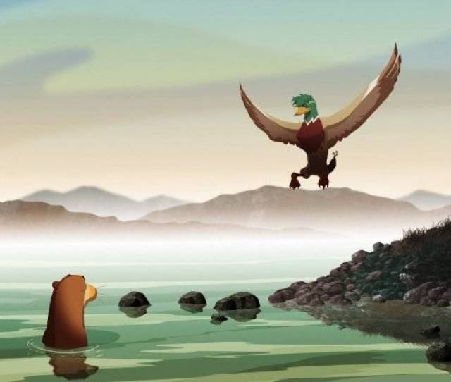 Added Long Trailer And New Stills For The Korean Animated Movie Leafie A Hen Into The Wild