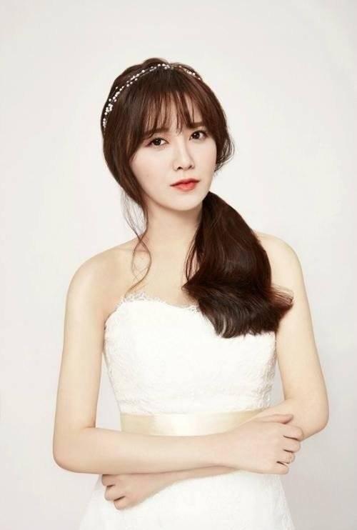 Photos Koo Hye Seon The Bride Of May In Wedding Dress