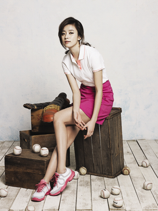 Photo Han Hyo Joo Who Wants To Play Catch Ball